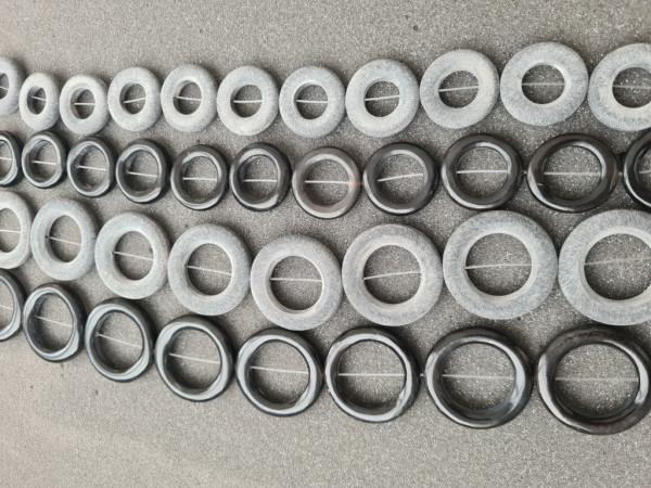 Black Horn round Ring