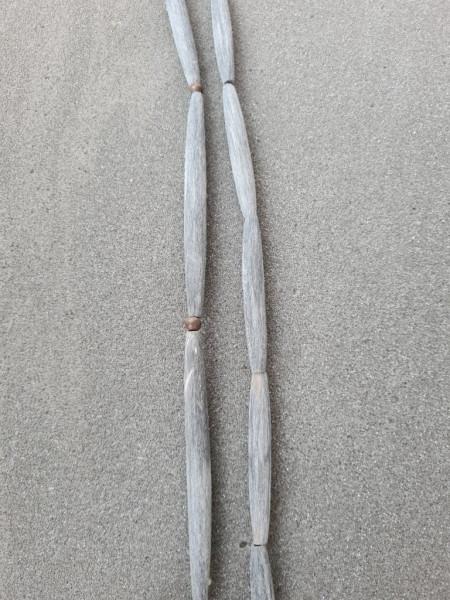 Black Polish / Brush Horn Pipe